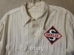 Authentic Original Skelly Oil Company Service Gas Station Attendant Uniform