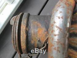 Davis Welding Mfg 5 Gallon Gas Oil Dump Container Can Service Station Shell