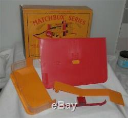 ESSO. 1960s. Matchbox Lesney Gas Petrol Garage MG1 Service Station. Alm. MINT IN BOX
