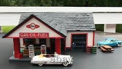 G Scale Gas Service Station Craftsman Kit
