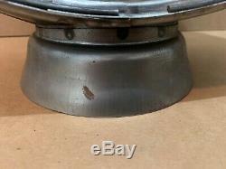 Gas Pump Globe Body 15 Low Profile Metal Light Lens Service Station Garage Oil