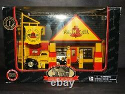 Golden Wheel Pennzoil Service Station Gas Pump 132 Scale Diecast Model Diorama