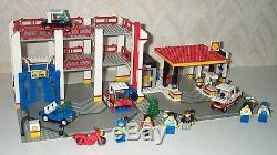 LEGO 6394 Town Metro Park & Service Tower Gas Station 6 Minifigs 5% Multi Disc