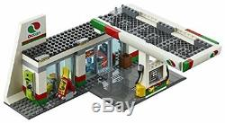 LEGO City Town Service Station Building Kit (515 Piece)