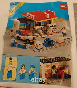 LEGO Set 6378 Shell Gas Service Station + Instructions + Stickers Complete MINT
