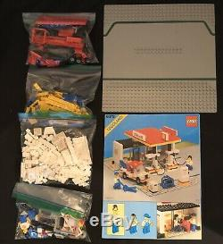 LEGO Set Town 6378 Shell Gas Service Station Petrol Garage Tow 100% Complete