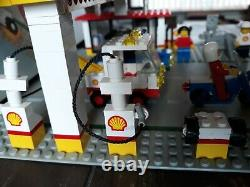 Lego 6371 Legoland classic Town Shell Gas service station complete box instruct