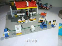 Lego Land 6378 Vintage 1986 Classic Town Service Station 100% with 2 Mini Figures