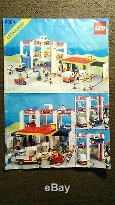 Lego Metro Park and Service Tower set 6394 Box, Instructions, 100% COMPLETE