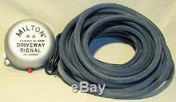 Milton Driveway Service Gas Station Signal Bell with50' of Hose-NEW