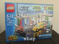 New Lego 7993 Service Station (Car Wash Gas Station) Rare Set Sealed Box