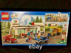 New Open Damage Box Lego City 60132 Service Station 515 pcs Retired Set