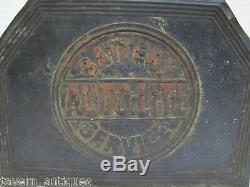Old Autolite Battery Service Box gas station repair shop auto truck farm eqpmnt