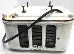 Rare Vintage Sani-Dry Porcelain Hand Dryer- Gas/Service Station-Gas