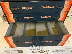 Rare Wagner Lockheed Parts Tool 3 Drawers Cabinet Box Tray Original 1020