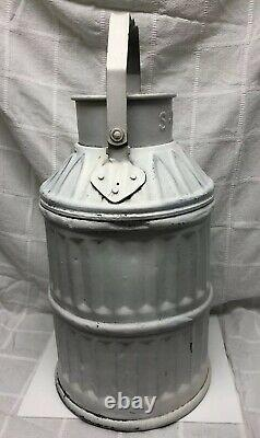 Shell Oil 5 Gallon Gas Oil Dump Container Can Service Station