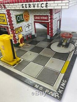 Vintage 1949 Superior Service Gas Station T Cohn Inc. Frank Studios Tin Lito