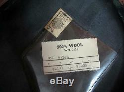 Vintage 1950s Texaco Gas Service Station Attendant Cap Wool Uniform Hat Gasoline
