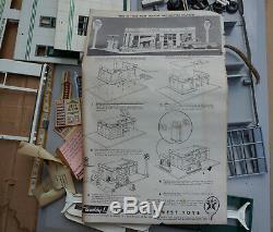 Vintage 1960s Buddy L Texaco Gas Service Station Model Toy Original Box SPD-325