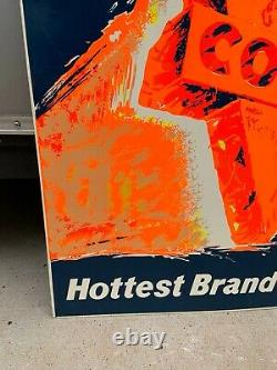 Vintage 1960s CONOCO Service Station Hottest Brand Going Sign Gas & Oil