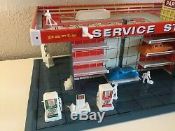 Vintage 1962 T Cohn Brumbaugh Tin Litho Superior Service Station Gas Oil