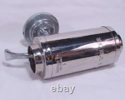Vintage Boraxo Stainless Steel Powdered Soap Dispenser Gas Service Station