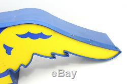 Vintage Goodyear Tires Wingfoot Neon Sign 33 x 12 Gas Service Station