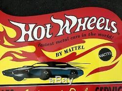 Vintage Hot Wheels Matchbox Cars Metal Sign Gas Oil Service Station Pump Plate
