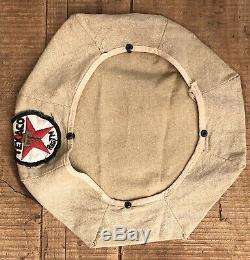 Vintage Original TEXACO Gas Service Station Driver Uniform Attendant Hat Cap