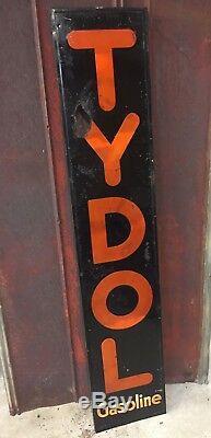 Vintage Tydol Gasoline Sign Gas Station Service 70x15