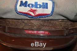 1950 Mobil Oil Service De Gaz De Remplissage Préposé Uniforme Unitog Hat