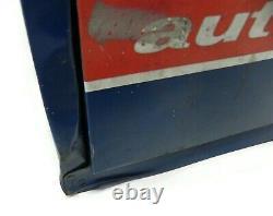 Armoire De Station-service Vintage Echlin United Metal & Key 24 X 9 X 22