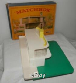 Bp. 1960. Matchbox Lesney. Gaz Essence Garage Mg1 Service Station. Alm. Mint In Box