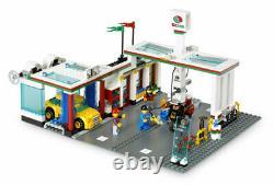 Brand New Lego City 7993 Service Station-service Station-service Ville Moto Octan Red