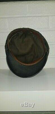 Early Shell Gas Oil Station Service Attendant Hat