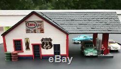 Echelle G Service Station Esso Gas Craftsman Kit
