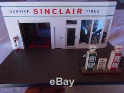 Franklin Mint Sinclair Service Station Gaz, Parfait État