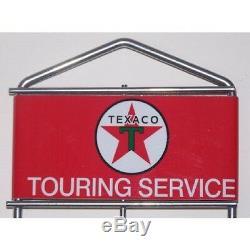 Golfe Sinclair Texaco Gas Carte Rack Service De Remplissage D'huile Station Decor