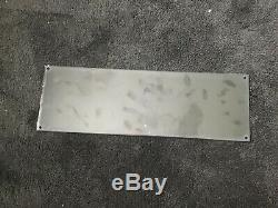 Gomme Vintage Beech-nut Porcelaine Signe Oil Service Station Pump Plate Rare