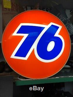 Grande Station Union Vintage 76 Gas Light Up Sign 76 Service Station 24inches