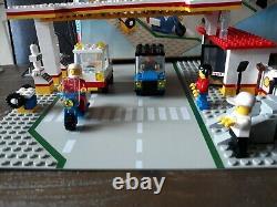 Lego 6371 Legoland Classique Station Service Shell Gas Ville Instruire Boîte Complète