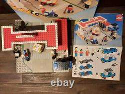 Lego 6371 Legoland Town Shell Gas Service Station Instructions Boîte Super Cond