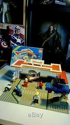 Lego Vintage 6371 Service Station Shell, 100% Complet, Instructions, Set 1983