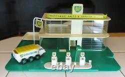 Lesney Matchbox Mg-1 Bp Gaz / Essence Des Ventes Et Station-service, Et Bp Camion Huile