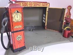 Marx Tin Litho Sunny Side Service Station Gaz