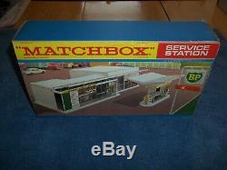Matchbox Mg-1 Gaz Essence Bp Station-service À Box Unplayed Non Utilisée Lesney Mint