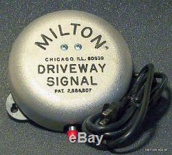 Milton Allée Service Station Signal De Bell With50' De Fin Boyaux Et D'ancrage