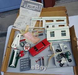 Modèle De Station Service Essence Buddy L Texaco Vintage Des Années 1960, Jouet, Boîte D'origine Spd-325