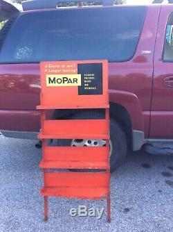 Mopar Service Sign Oil Peut Afficher Les Nettoyants Pour Stations Service Gas Dodge Vtg