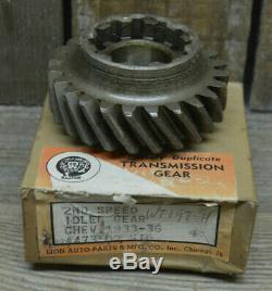 Nos 1933-1936 Chevy 2ème Vitesse Idler Manual Gear Transmission Idle Vtg Oem Stock